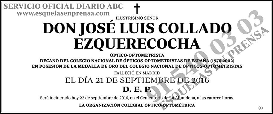José Luis Collado Ezquerecocha